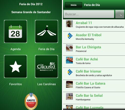 Aplicación oficial de la Feria de Día 2012 de Santander