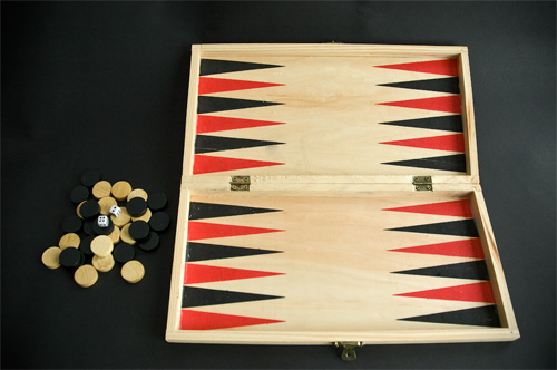 Tablero de backgammon
