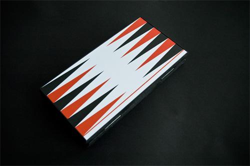 Backgammon magnético Cayro, plegado