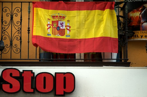 Santander durante la final de la EuroCopa 2012