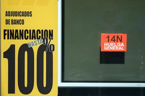 Huelga 14N en Santander