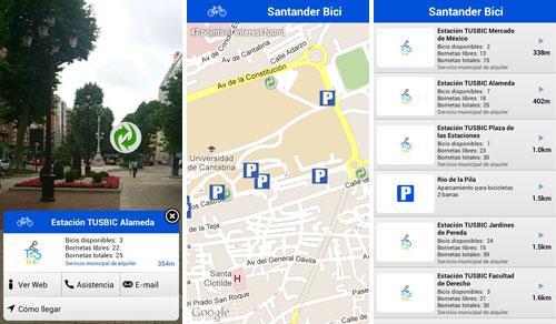 Capturas de pantalla de Layar Santander Bici